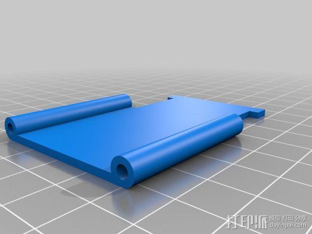 相机防振支架 3D模型  图3