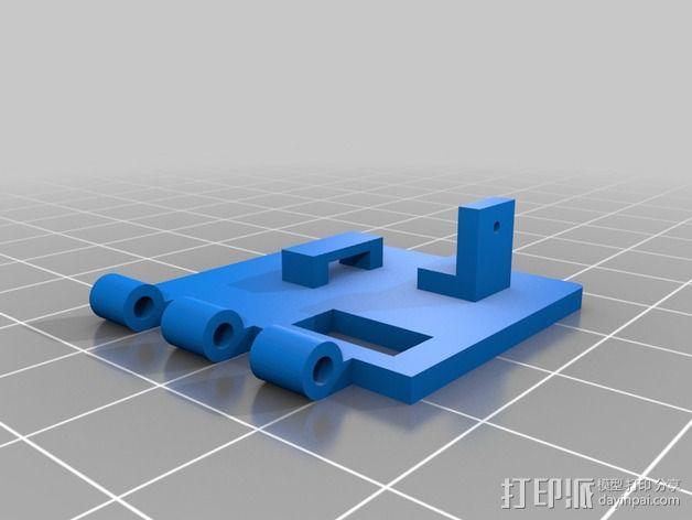 相机防振支架 3D模型  图2