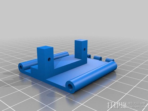 相机防振支架 3D模型  图4