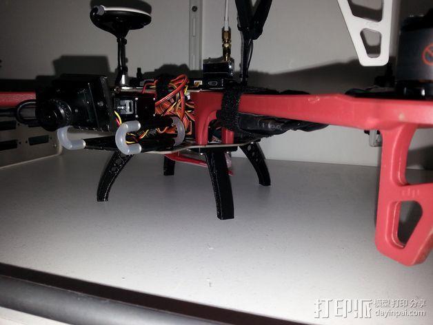 相机防振支架 3D模型  图5