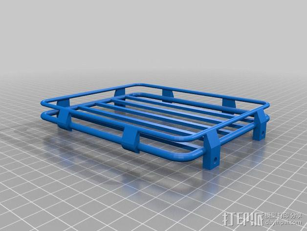 D90 Gelande越野车 行李架 3D模型  图2