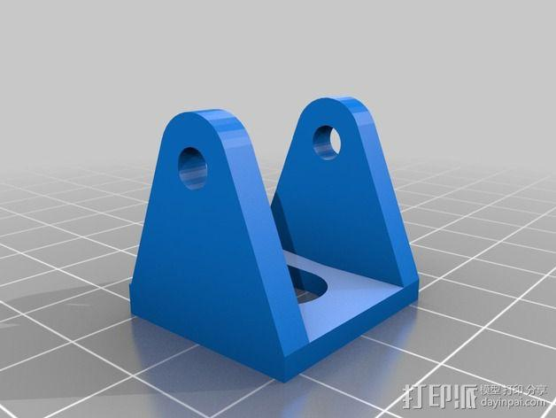 Dremel电动工具零部件 3D模型  图3