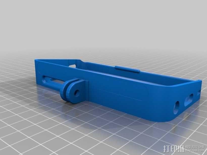 DJI Phantom 四轴航拍器 iPhone 5/5s固定架 3D模型  图5