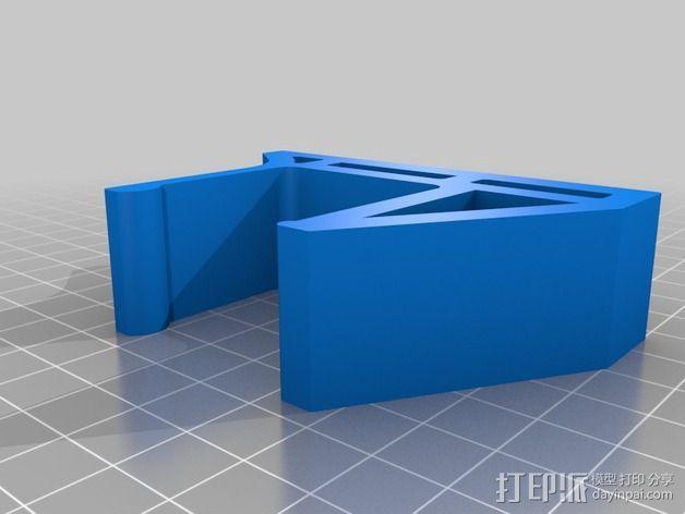 谷歌眼镜置放架 3D模型  图2