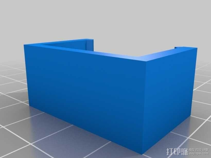 RaspiGuard 树莓派无线防盗报警系统零部件 3D模型  图2