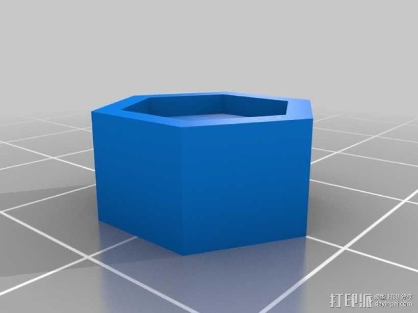 RaspiGuard 树莓派无线防盗报警系统零部件 3D模型  图5