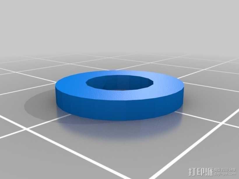 RaspiGuard 树莓派无线防盗报警系统零部件 3D模型  图4