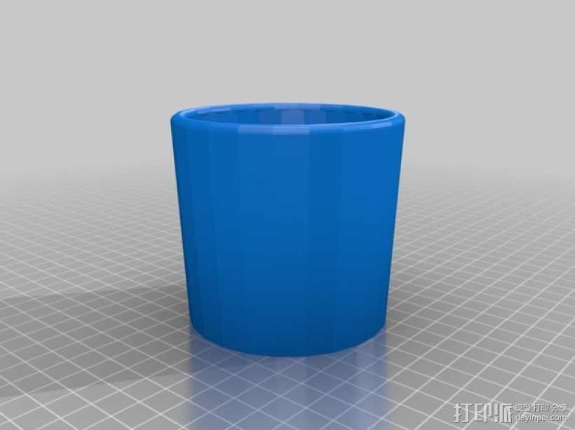 本田 CRV杯架 3D模型  图2