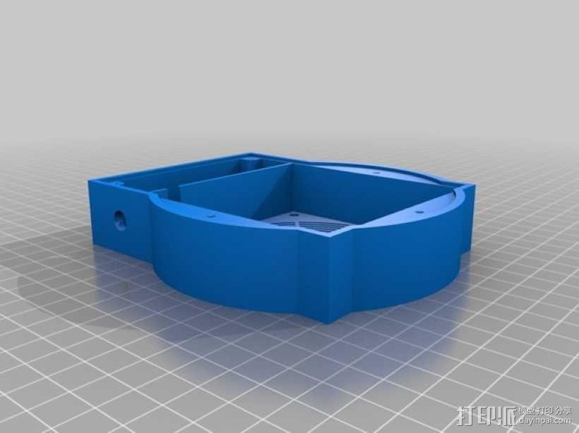磁力搅拌盘 3D模型  图1