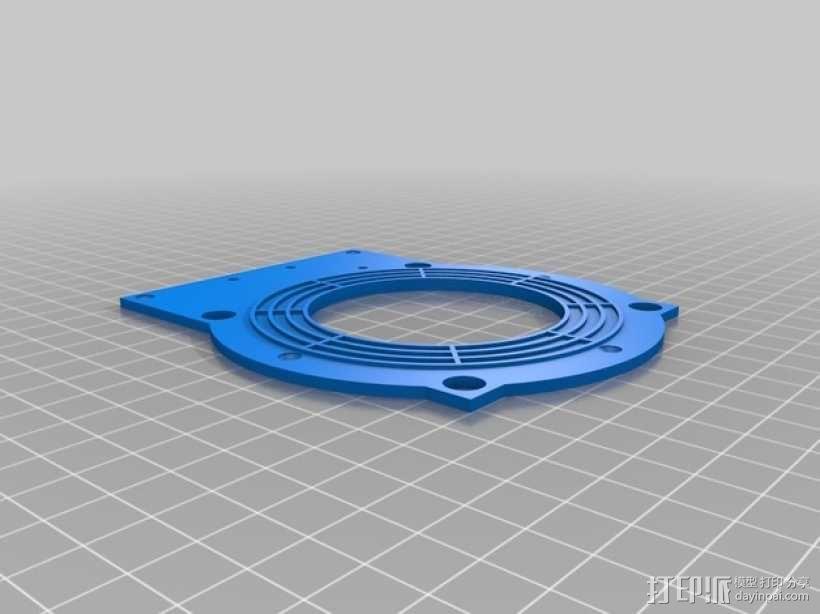 磁力搅拌盘 3D模型  图2