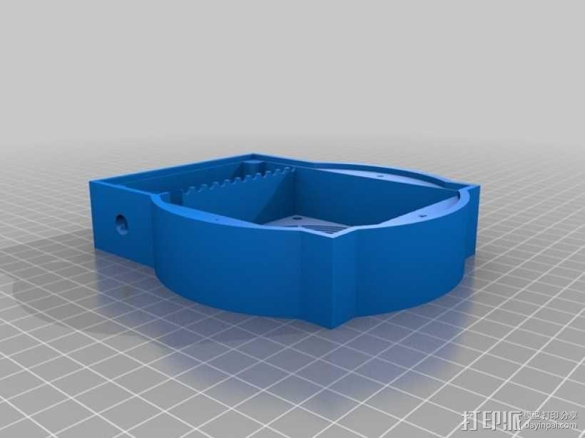 磁力搅拌盘 3D模型  图3