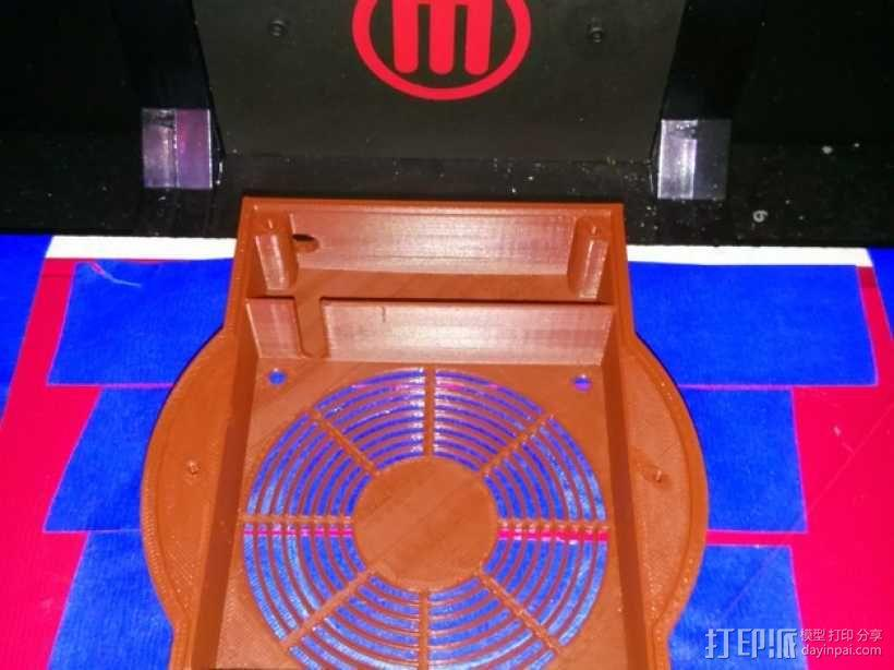 磁力搅拌盘 3D模型  图5