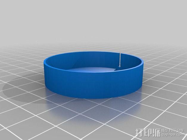 Tork GPro扬声器外壳 3D模型  图2