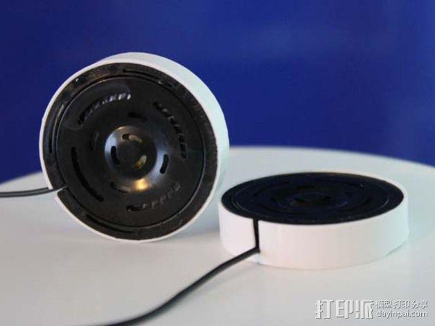 Tork GPro扬声器外壳 3D模型  图1