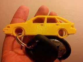 本田汽车 钥匙扣 3D模型