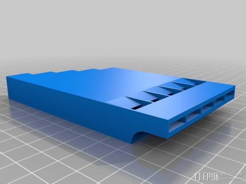 多频哨子 3D模型  图1