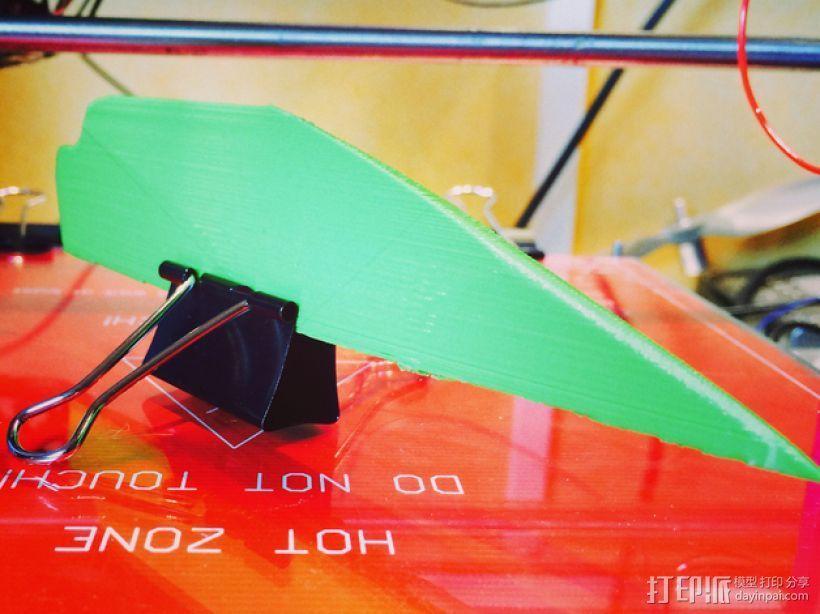 冲浪风筝零部件 3D模型  图1