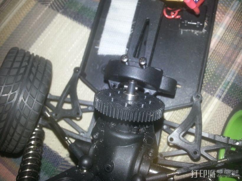 遥控赛车正齿轮 3D模型  图1