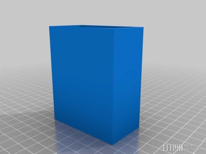 子弹盒 盒套 3D模型  图2