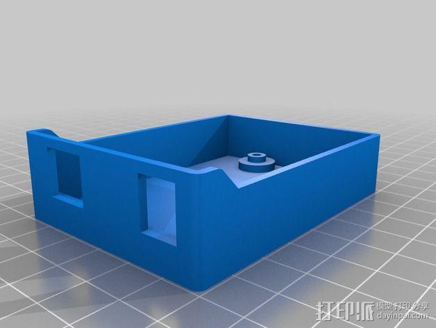 Arduino单片机板 托盘 3D模型  图2