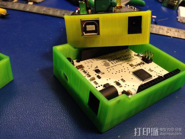Arduino单片机板 托盘 3D模型  图1