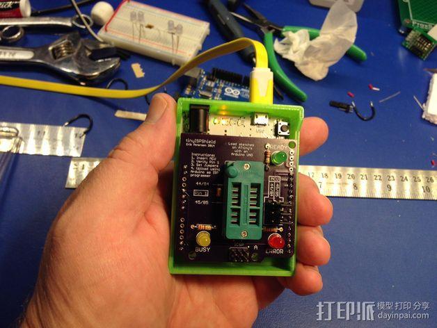 Arduino单片机板 托盘 3D模型  图4