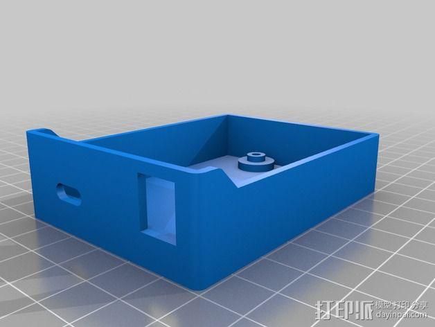 Arduino单片机板 托盘 3D模型  图3