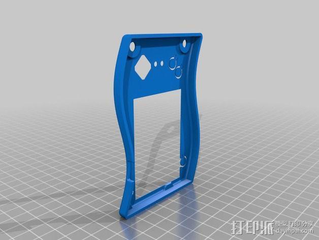 Tilda mke电子徽章外壳 3D模型  图2