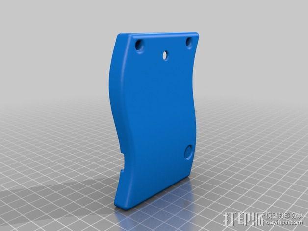 Tilda mke电子徽章外壳 3D模型  图4