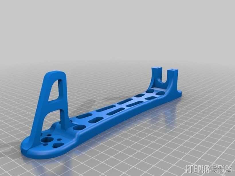 Dji Flamewheel F550四轴飞行器 替换臂 3D模型  图2