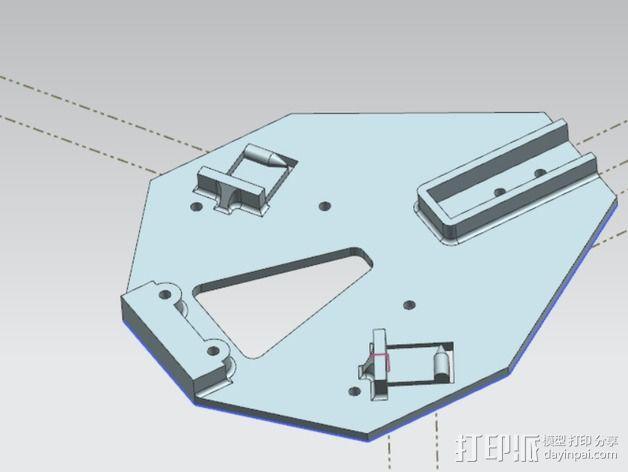 三轴飞行器 3D模型  图2