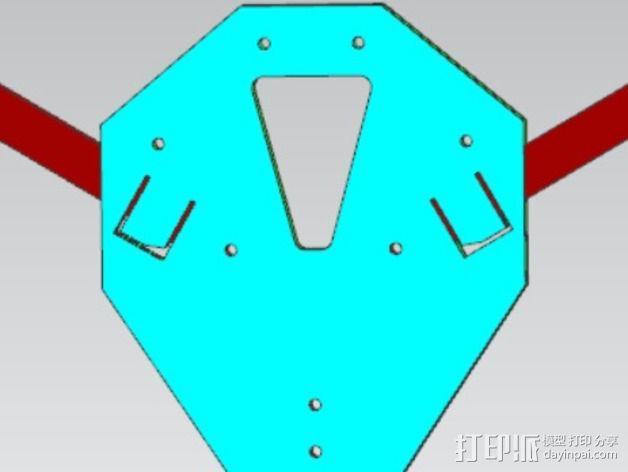 三轴飞行器 3D模型  图8