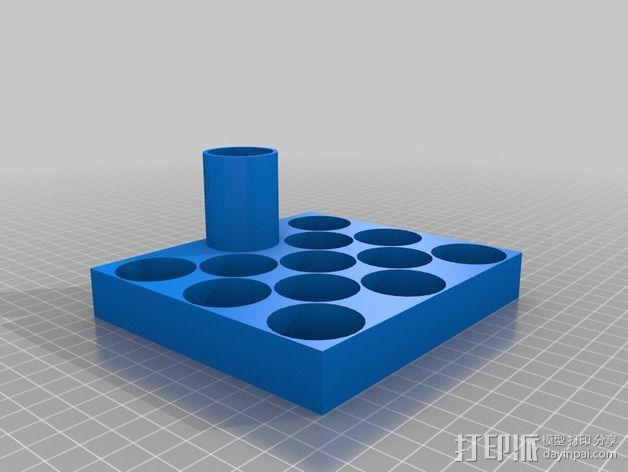 Revell油漆架 3D模型  图2