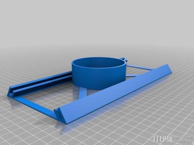简易DIY除尘器 3D模型  图2
