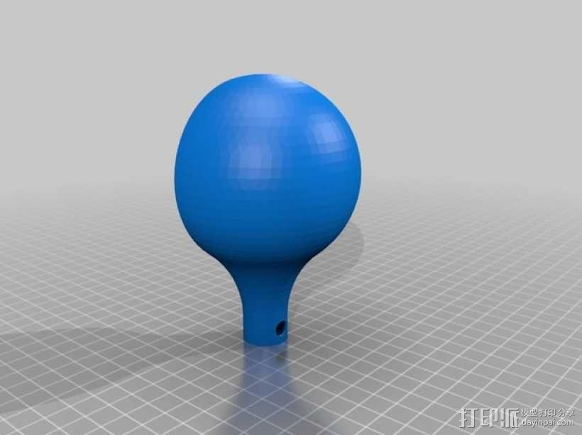 简易DIY除尘器 3D模型  图3