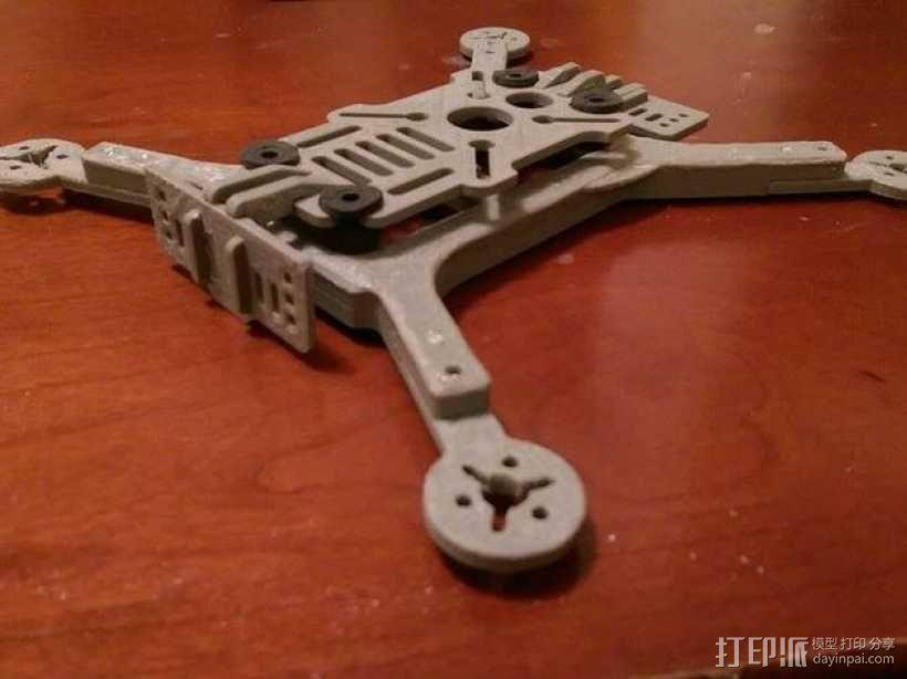 迷你180四轴飞行器 3D模型  图7