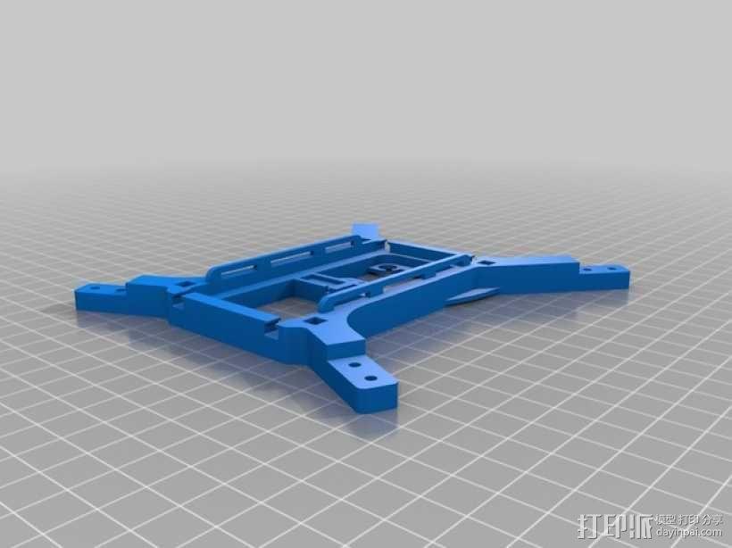 迷你180四轴飞行器 3D模型  图8