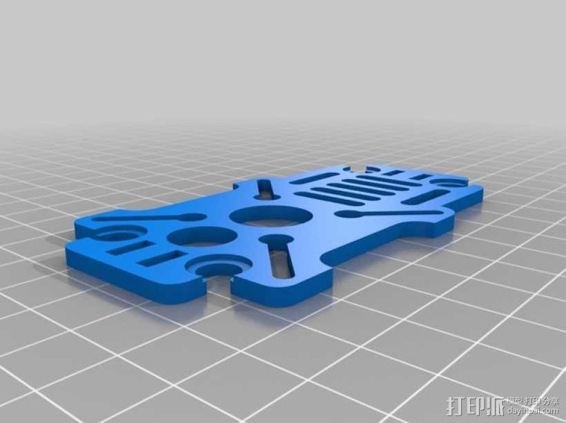 迷你180四轴飞行器 3D模型  图9