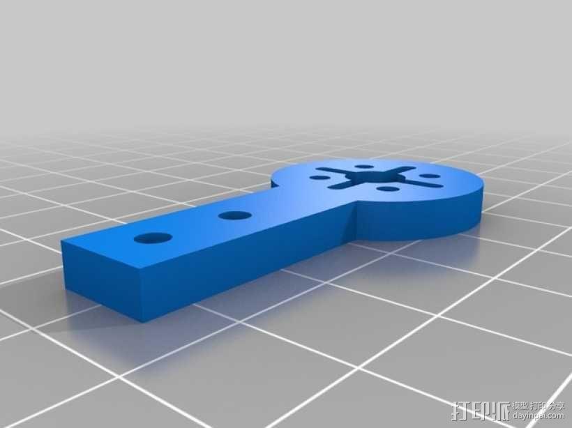 迷你180四轴飞行器 3D模型  图11