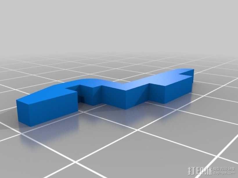 迷你180四轴飞行器 3D模型  图15