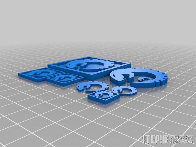 泰伦虫族 图标 3D模型  图4