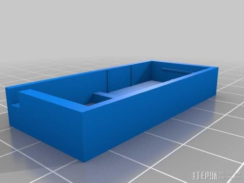 SX350芯片座 3D模型  图1