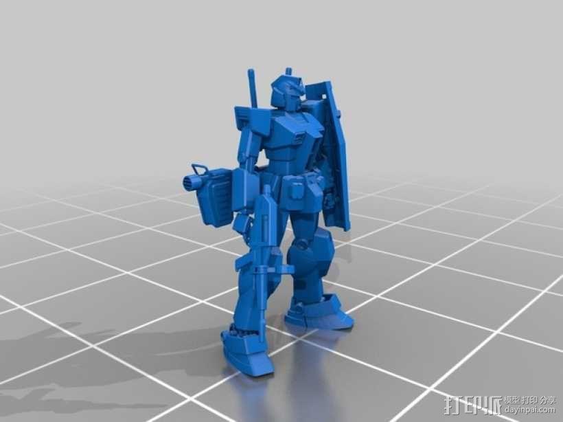 高达机器人 3D模型  图5