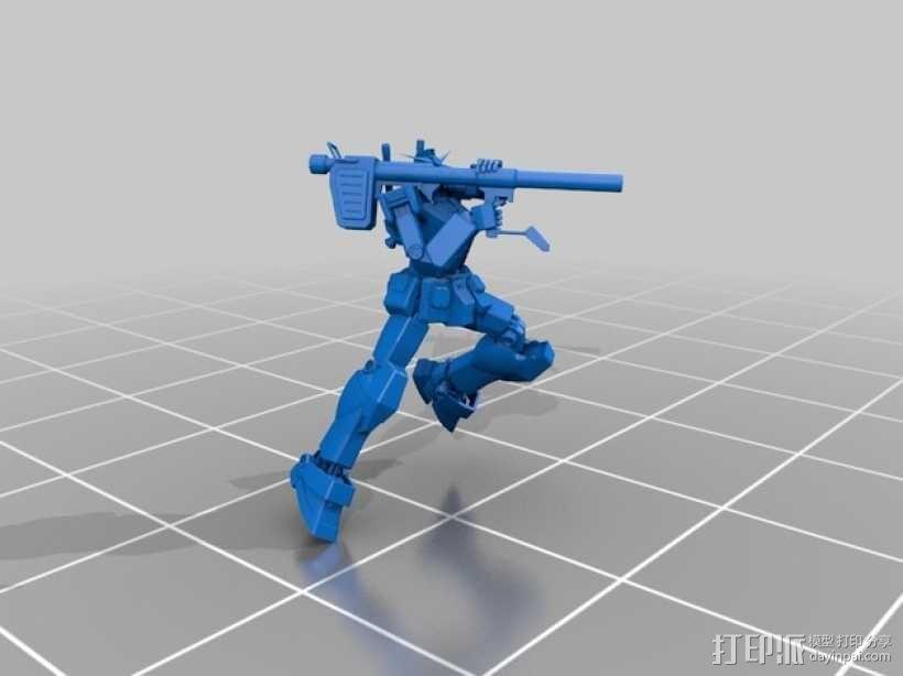 高达机器人 3D模型  图7