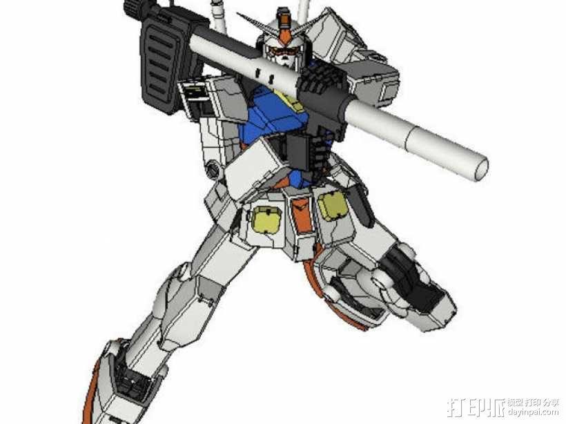 高达机器人 3D模型  图12