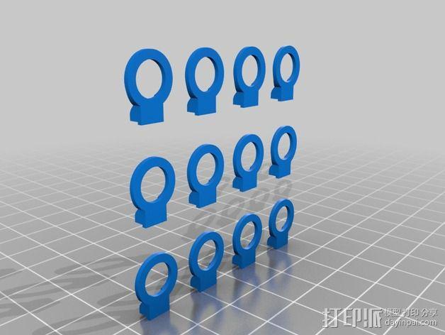 拉带 3D模型  图5