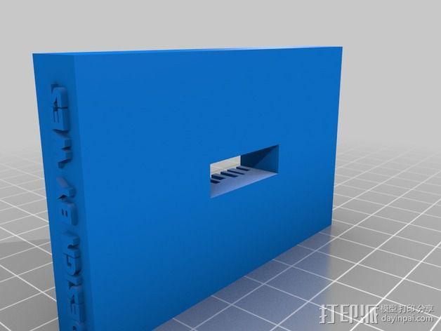3D打印电路板 3D模型  图2