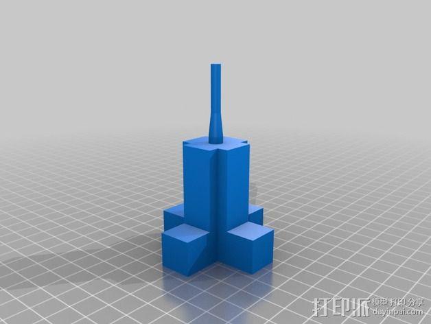无刷马达 3D模型  图3