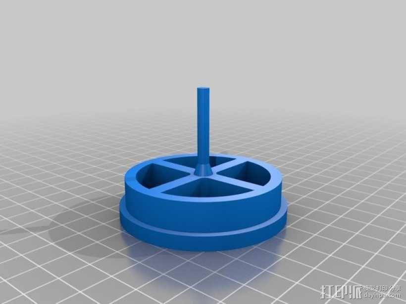 无刷马达 3D模型  图4