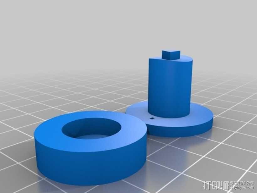 无刷马达 3D模型  图5